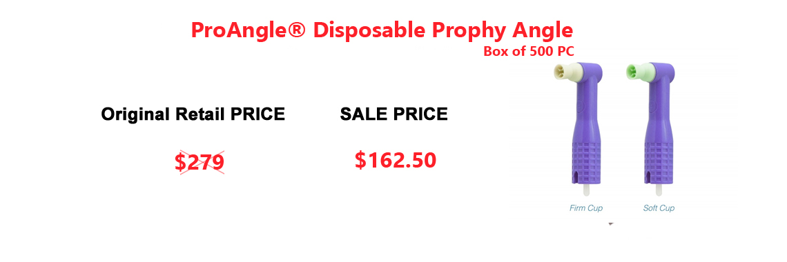 ECOTEX Disposable Prophy Angels/Box