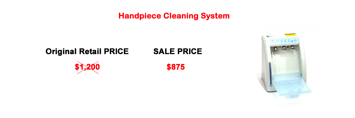 Handpiece Cleaning System